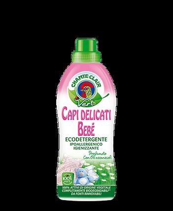 Гель для стирки деликатных детских вещей (органика) VERT 0,75 л без запаха, Chante Clair 516093, фото 2