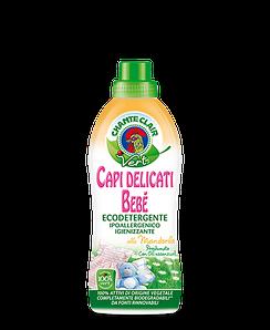 Гель для стирки деликатных детских вещей (органика) VERT 0,75 л c ароматом сладкого миндаля, Chante Clair 516109
