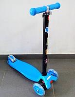 Самокат Ай Трайк Макси детский четырехколесный ITrike Maxi