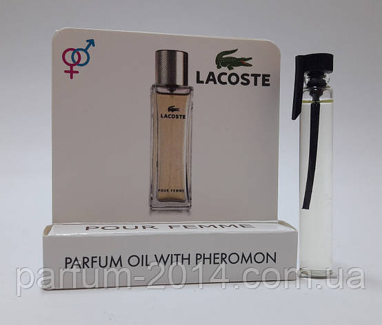 Масляные духи с феромонами Lacoste Lacoste Pour Femme 5 ml (реплика), фото 2