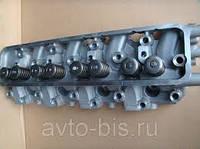 Головка блока цилиндров с клапанами Газ 66 обычная СССР
