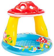 Надувний басейн з навісом Грибок Intex 57114