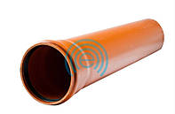 Труба канализационная наружная 110*500 3,2 мм Evci Plastik