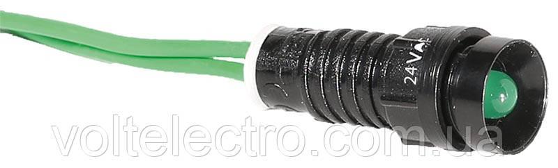 Лампа сигнальная LS LED 10 G 24AC (красная, зеленая, желтая)