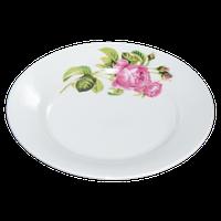 Тарелка фарфоровая 175мл роза кавказа