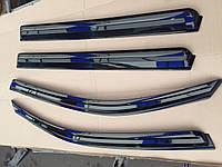Дефлекторы окон (ветровики) на Ssangyong Rexton