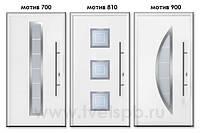 Двери входные с остеклением Thermo65 Hormann