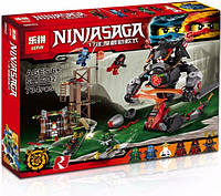 Конструктор Lepin Ninjago 06042 Железные удары судьбы