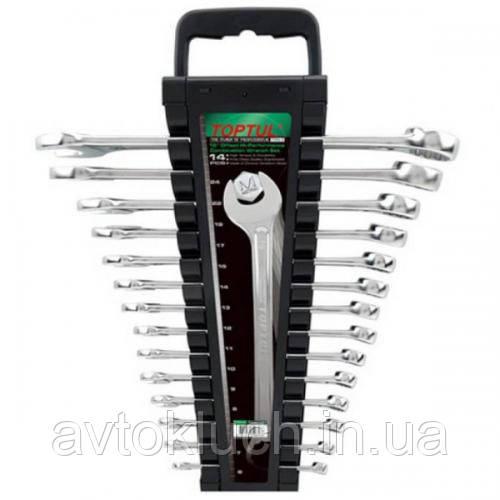 Набор ключей комбинированных в холдере 14 шт. 6-24мм