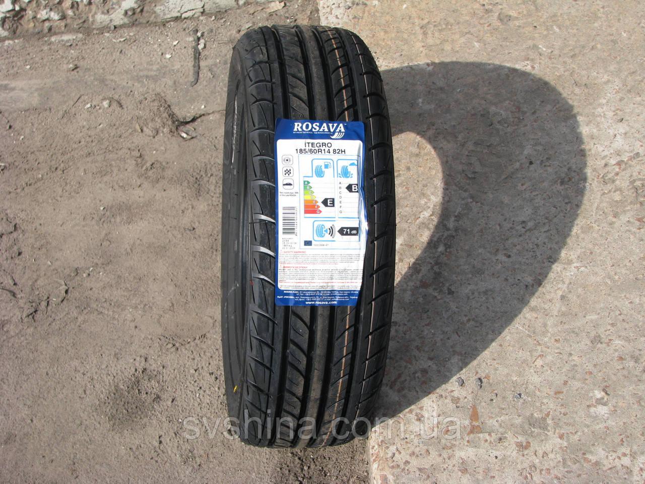 Літні шини 185/60R14 Росава ITEGRO, 82H