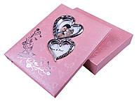 Фотоальбомы свадебные (20 листов) розовый