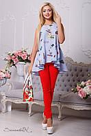 Блуза туника модная женская (42-48), доставка по Украине