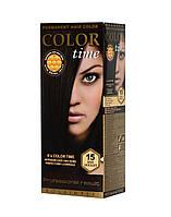 Гель-краска COLOR TIME №15 Черный шоколад