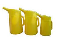 Емкость для долива технических жидкостей с мерными метками 1 л. Force 63801 F