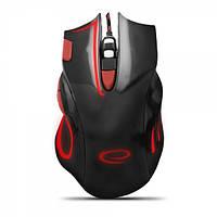 Мышь Esperanza MX401 Hawk Black-Red (EGM401KR) 2400dpi