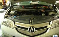 Установка гбо BRC на автомобиль ACURA MDX обьём 3.7