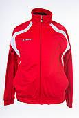 Спортивная летняя куртка мужская для бега красная Joma