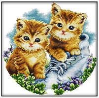 Набор для вышивки крестиком: Котята
