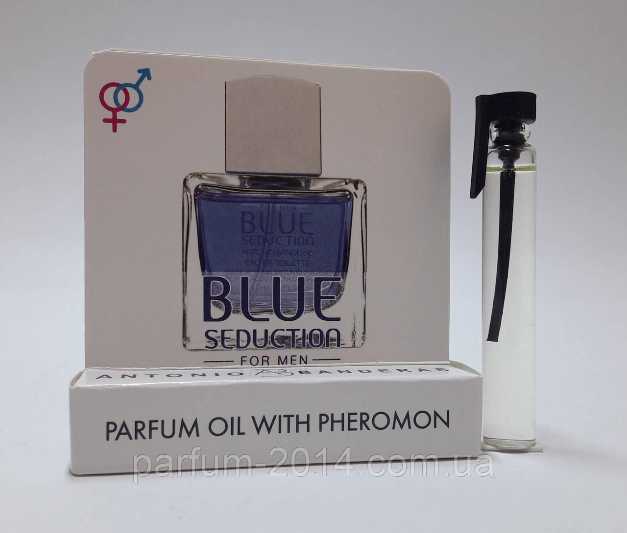 Масляные духи с феромонами Blue Seduction Antonio Banderas 5 ml (реплика)