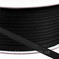 Лента атласная черный (3мм)