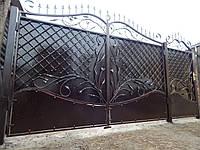 Ворота кованые Кама