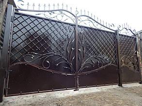Ворота кованые Кама, Кама плюс , фото 2