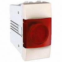 Индикатор 1 модуль Schneider Electric Unica индикация Красная цвет Слоновая кость MGU3.775.25R