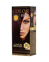 Гель-краска COLOR TIME №33 Баклажан