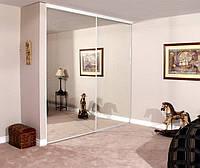 Встроенные шкафы-купе с зеркалом