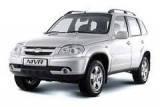 Защита заднего бампера Chevrolet Niva (2002 -2017)
