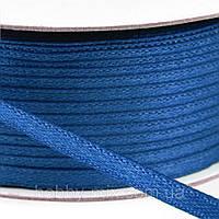 Лента атласная голубой темный (3мм), фото 1