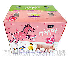 Платочки бумажные Bella baby Happy Универсальные двухслойные 40+40 - 80 шт.
