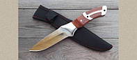 Нож армейский Columbia К320, спецназначения, удобная деревянная рукоять, фото 1