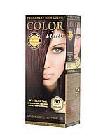 Гель-краска COLOR TIME №50 Темный махагон