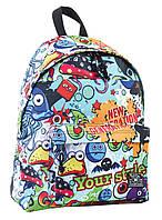 553977 Рюкзак підлітковий ST-15 Crazy 18, 31*41*14