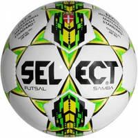Мяч футзальный Select Futsal Samba IMS, white
