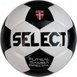 Мяч футзальный Select Futsal Samba Special бело/черный, фото 2