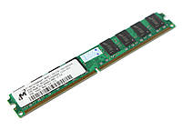 Оперативная память для компьютера 2Gb DDR2, 800 MHz (PC6400), Micron, CL6 (MT16HTF25664AY-800E1)