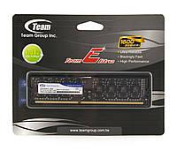 Память 2Gb DDR3, 1600 MHz (PC3-12800), Team Elite, 9-9-9-24, 1.35V (TED3L2G1600C1101)