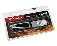 Память 4Gb DDR4, 2400 MHz, Team T-Force Vulcan Grey, 16-16-16, 1.2V, с радиатором (TLGD44G2400HC1401)