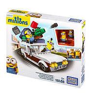 Конструктор Minions Фургон Міньйонів, Mega Bloks 188 деталей, фото 1
