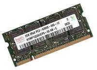Память SO-DIMM 2Gb, DDR2, 800 MHz (PC2-6400), Hynix (HYMP125S64CP8-S6)