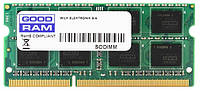Память SO-DIMM 4Gb, DDR3, 1600 MHz (PC3-12800), Goodram, 1.35V (GR1600S3V64L11S/4G)