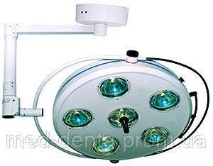 Операционный светильник галогенновый L2000 6-II- шестирефлекторный потолочный ZOOBLE