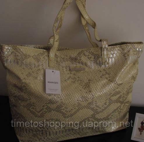 Жіноча сумка в стилі Манго