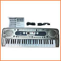 Детский синтезатор пианино - FM радио + микрофон