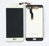Оригинальный дисплей (модуль) + тачскрин (сенсор) для Meizu M3 Note | L681H (белый цвет)