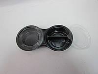 Упаковка 2-е емкости (имбирь, васаби, соевый соус)