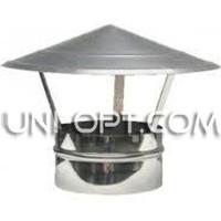 Зонт из нержавейки для дымохода AISI321