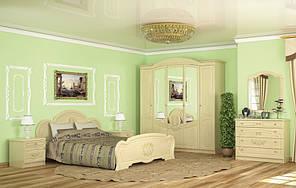 Спальный гарнитур Барокко с 5-ти дверным шкафом. Мебель-Сервис.